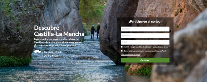Las visitas a la web promocional de 'Turismo de Castilla-La Mancha' crecen cerca de un 26% en el mes de mayo y superan las 171.000