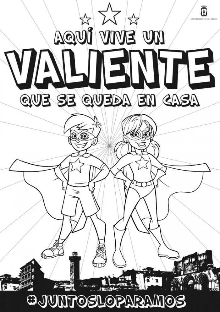 El alcalde de Cuenca publica un bando infantil para reconocer el esfuerzo de los más pequeños y animarlos a quedarse en casa