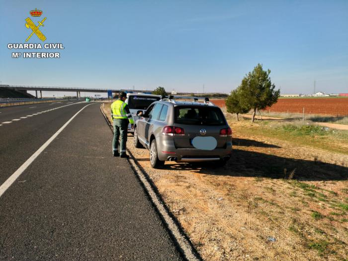 Detenido un conductor que iba a 237km/h en la A-43