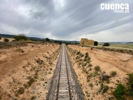 La España Vaciada reclama en Priego el plan '100-30-30' y defiende el tren convencional