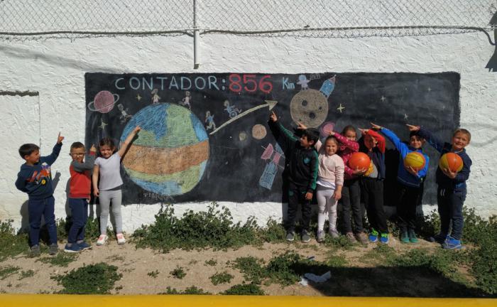 Los escolares de 100 centros de la región han recorrido ya un tercio del viaje de Castilla-La Mancha a la Luna, en su reto deportivo de este curso