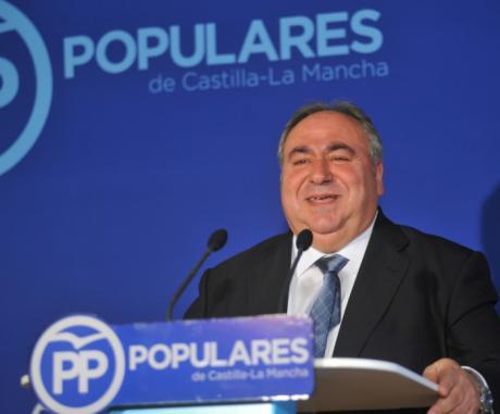 Tirado aboga por hacer, entre todos, una Castilla-La Mancha de presente y futuro; y eso es posible con el proyecto de región del PP