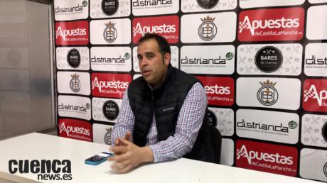Sala de Prensa | Faustino Manzanero - [U.B. Conquense 2- 0 C.D. Villacañas]
