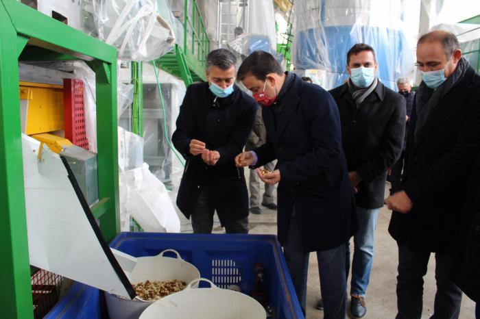 Más de un millón de euros de inversión para el procesado del pistacho ecológico en Castilla-La Mancha