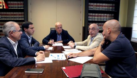 El presidente de la Confederación Hidrográfica del Júcar se reúne con el presidente de la Diputación de Cuenca
