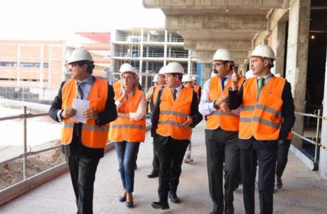 Las obras de construcción del nuevo Hospital de Toledo avanzan a buen ritmo