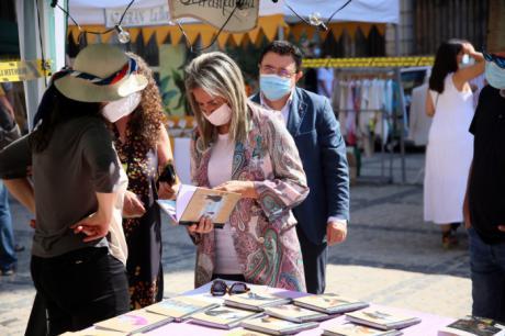 Toledo arranca su Septiembre Cultural con el centenar de actos del Festival de Poesía Voix Vives, inaugurado hoy por la alcaldesa