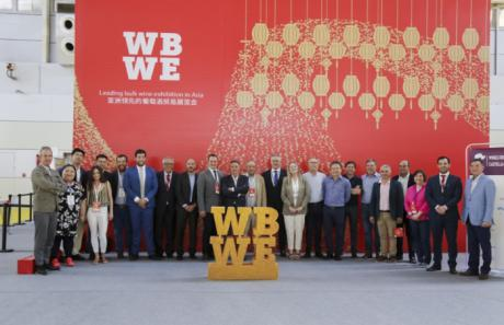 Globalcaja, con el sector del vino en la WBWE que se celebra en Asia