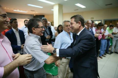 """Emiliano García-Page: """"Coincido con Borrell en que la bicefalia es algo negativo que ya está superado"""""""