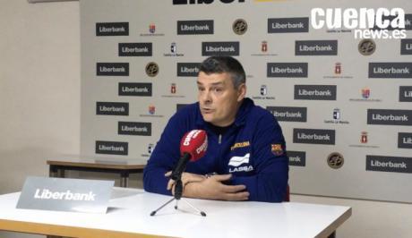 Sala de Prensa | Xavier Pascual- [Ciudad Encantada 27- 30 FC Barcelona Lassa]