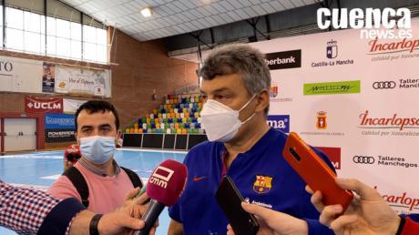 Sala de Prensa | Xavier Pascual- [Incarlopsa Cuenca 27 - 41 Barça]