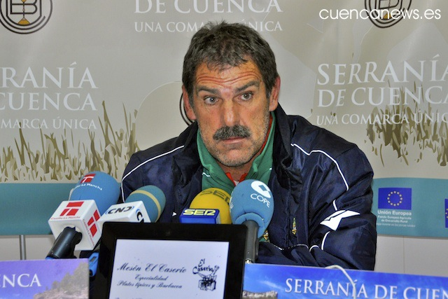 Montes, nuevo entrenador de la U.B. Conquense